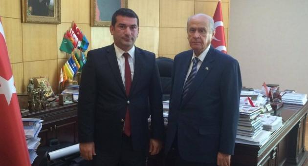 Doğu Türkistan Sürgün Hükümeti'ne Ülkü Ocaklı bir Bakan atandı.