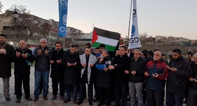 AGD'den Kudüs'te yasaklanan ezan için tepki