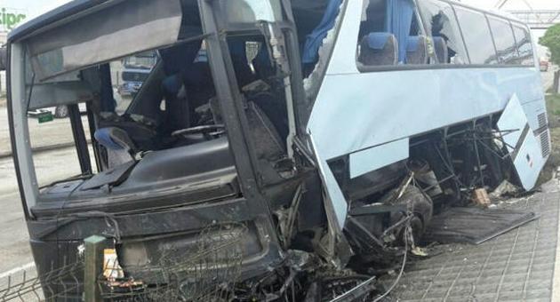 Ak Parti kongresi yolunda kaza: 40 yaralı