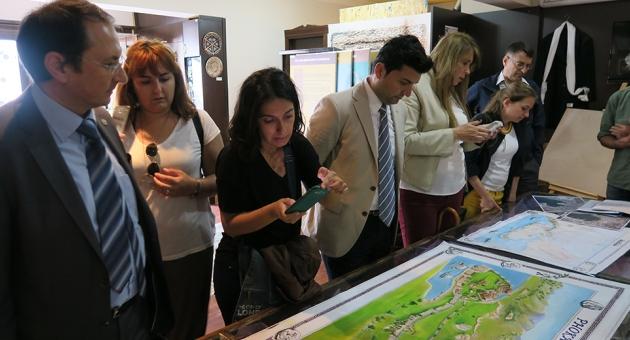 Turizm Fakültesi Foça'ya Teknik Gezi Düzenledi