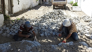 Dikili'de 13. Sokak sil baştan yenilendi