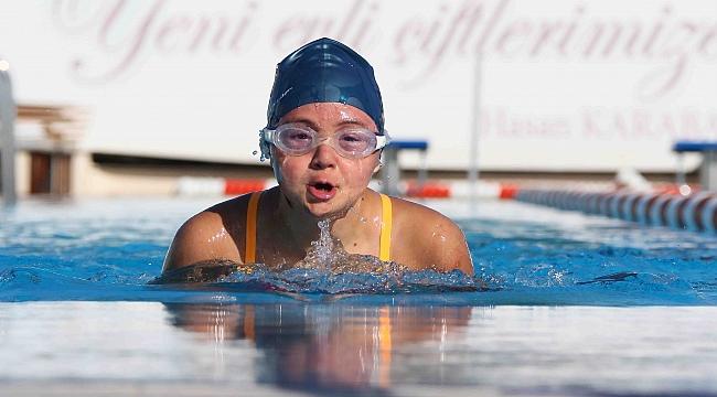 Dowv sendromlu İrem Avrupa Şampiyonasına hazırlanıyor