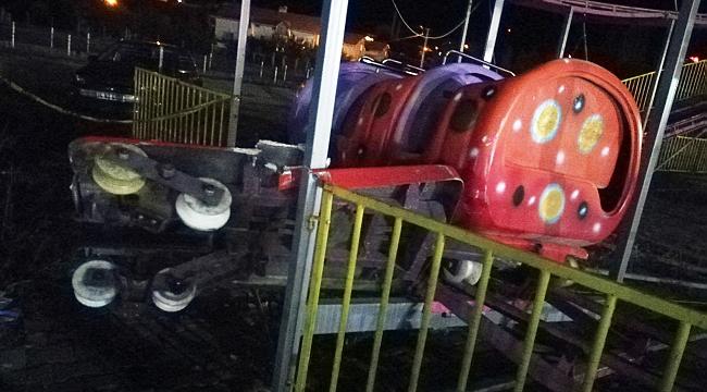 Lunapark'da feci kaza: 1 ölü, 1'i ağır 4 yaralı