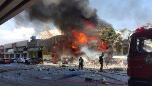 Samsun'daki patlamanın sebebi araştırılıyor