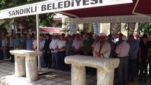 Sandıklı'da Cuma namazı sonrası İsrail protostosu