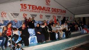 Sultangazi'de binler, demokrasi nöbetinde
