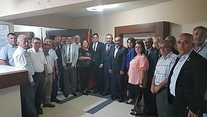 Acar,MHP il Başkanını ziyaret etti