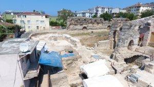 Balatlar yapısı kazı çalışmaları