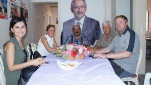 Çanakkale Belediye Başkan Yardımcısı Rebiye Ünüvar Lapseki'de