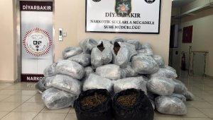 Diyarbakır'da 442 kilo 130 gram esrar ele geçirildi