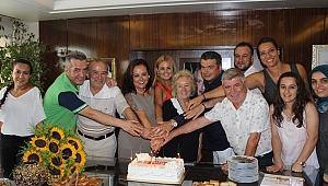 Ege Telgraf Gazetesi, 58'inci yaşını dostlarıyla bir arada kutladı