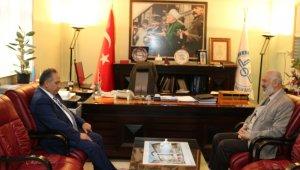Genel Sekreter Yalçın'dan il müftülüğüne ziyaret