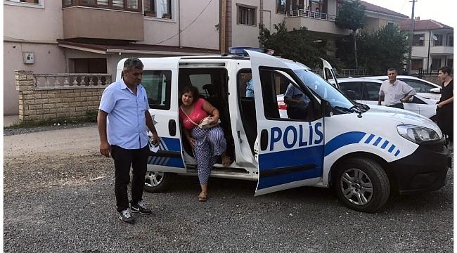 Kadın hırsız çetesi kıskıvrak yakalandı