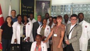 Kongolu sağlık personeline Ankara'da eğitim programı