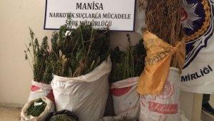 Manisa'da uyuşturucu operasyonu