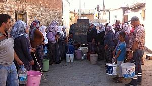 Ödemiş'te vatandaşları isyan ettiren su sıkıntısı