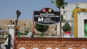 PKK'nın katlettiği Fırat Sımpil'in adı parkta yaşatılacak