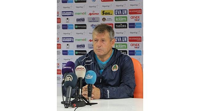 """Susic: """"2-3 tane çok önemli pozisyonu golle sonuçlandıramadık"""""""