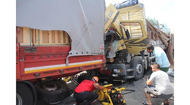 TEM'de feci kaza: 1 ölü 1 yaralı