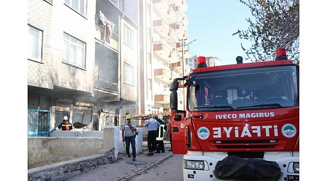 Çorakçılar Mahallesi'nde korkutan yangın