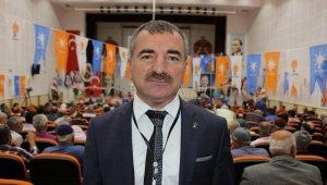Özdemir, AK Parti Havza İlçe Başkanı seçildi