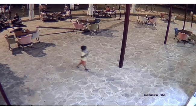 Vahşetin kurbanı 5 yaşındaki çocuğun son görüntüleri