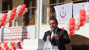 Başkan Soylu'dan Açılışta Siyaset Dersi