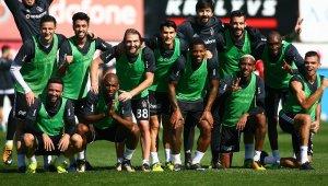 Beşiktaş Medipol Başakşehir maçı hazırlıklarını sürdürdü