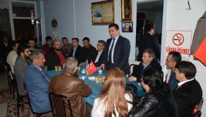 Bozüyük'te siyasetçiler ve STK temsilcileri boza gecesinde bir araya geldi