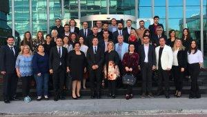 GAÜ temsilcileri Ankara'da biraraya geldi