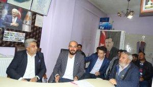Hisarcık AK Parti Gençlik Kollarında Emre Sarıkaş güven tazeledi
