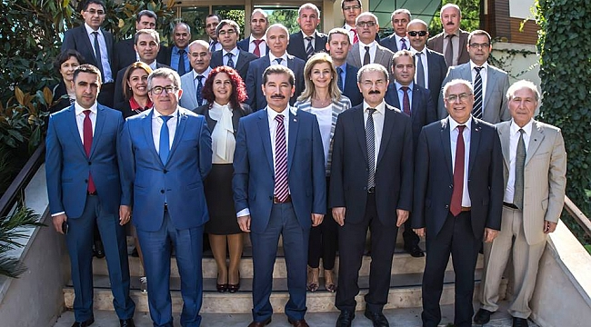 İzmir OBM Üst Yönetimi Özdere'de Toplantıda Bir Araya Geldi