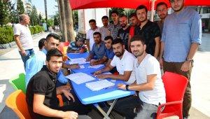Kumluca Ak Parti Gençlik Kolları'ndan kan bağışı