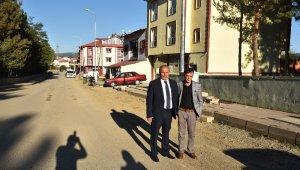 Taşköprü Sümer Mahallesi'nde havai elektrik hatları yer altına alındı