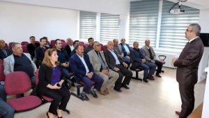 Yozgat'ta muhtarlara madde bağımlılığı eğitimi verildi