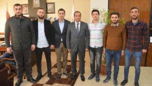 AK Parti Gençlik Kollarından Başkan Toltar'a ziyaret