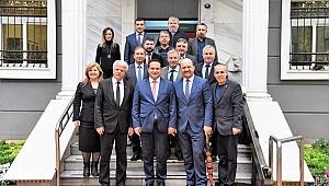 Balkan Göçmenleri Derneklerinden Başkan Atila'ya ziyaret
