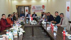 Bölge Gazetecilerinin sorunları Bitlis'te masaya yatırıldı
