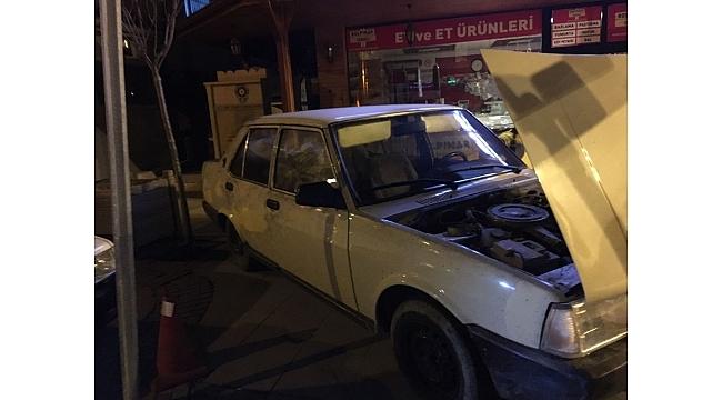 Kızılcahamam'da nefes kesen hırsız-polis kovalamacası