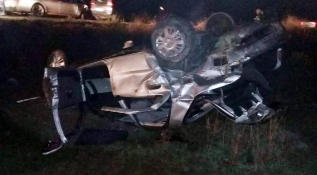 Otomobillerin çarpıştığı kazada can pazarı: 5 yaralı