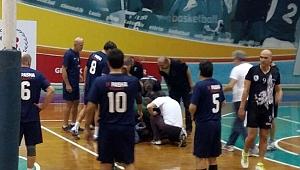 Veteranlar voleybol turnuvasında şok ölüm