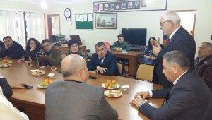 Azerbaycan heyeti Iğdır'da Stk'larla buluştu