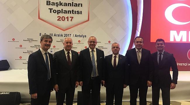 Başkan Kayda, Genel Başkan Bahçeli Başkanlığında Belediye Başkanları Toplantısına Katıldı