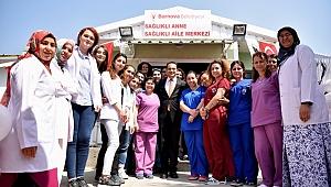Bornova'da sağlık çalışmaları devam ediyor