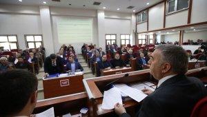 Büyükşehir Belediyesi'nde yılın son meclisi toplandı