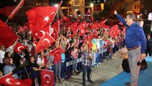 Darıca'dan Kudüs'e destek mitingi