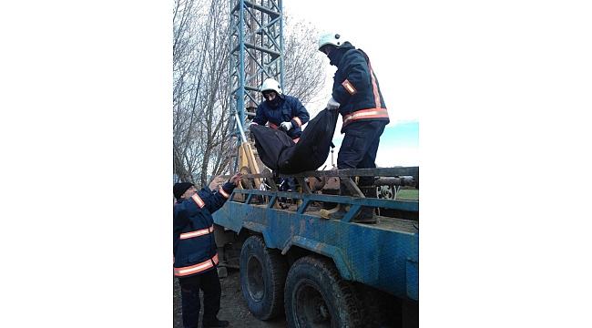 Elazığ'da iş kazası: 1 ölü