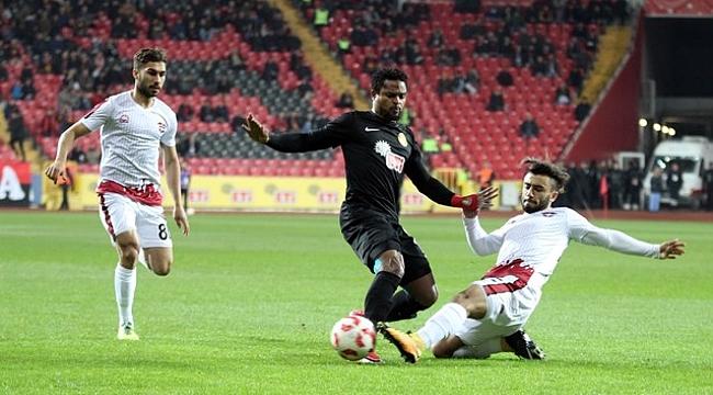 Eskişehirspor: 7 - Gaziantepspor: 0