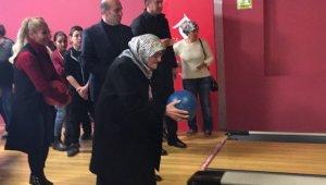 """Kırklareli'de """"Veteran, Yetişkin Bowling Turnuvası"""" düzenlendi"""