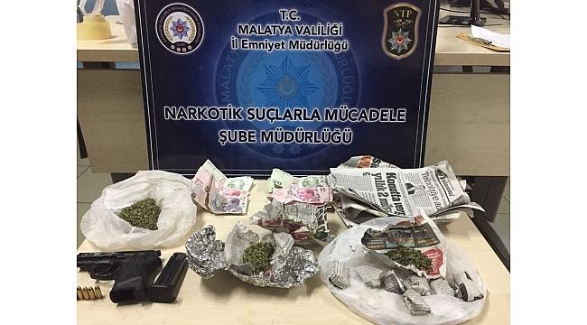 Malatya'da uyuşturucu operasyonu:10 gözaltı